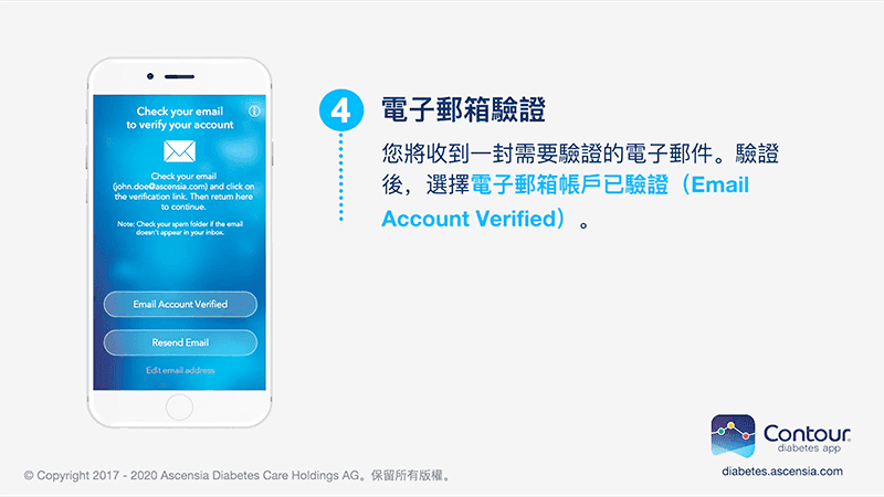 An email verification will be sent to you