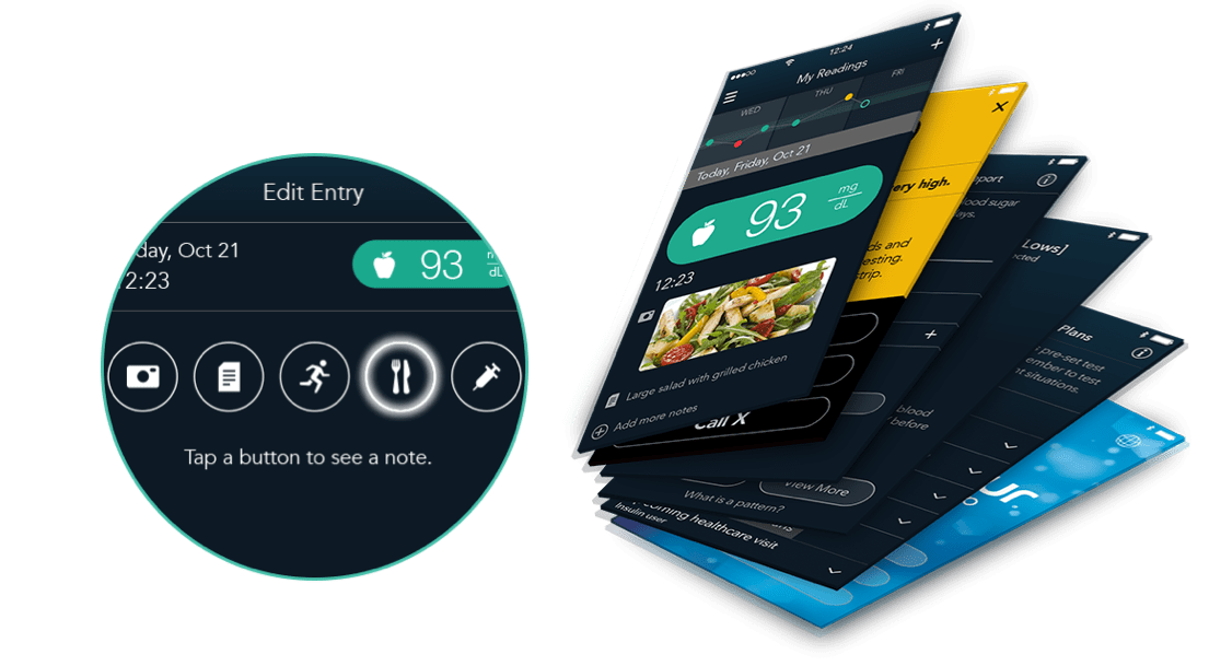 Multiple ways to record events from your phone